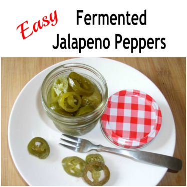 How to make fermented Jalapeno Peppers