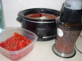 Slow Cooker Freezer Spaghetti Sauce