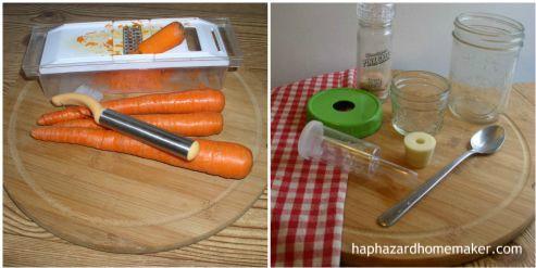 Fermented carrots supplies