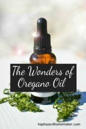 Essential Oil Bottle, Wonders of Oregano Oil, haphazardhomemaker.com