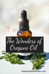 Essential Oil Bottle, Wonders of Oregano Oil, haphazardhomemaker.com
