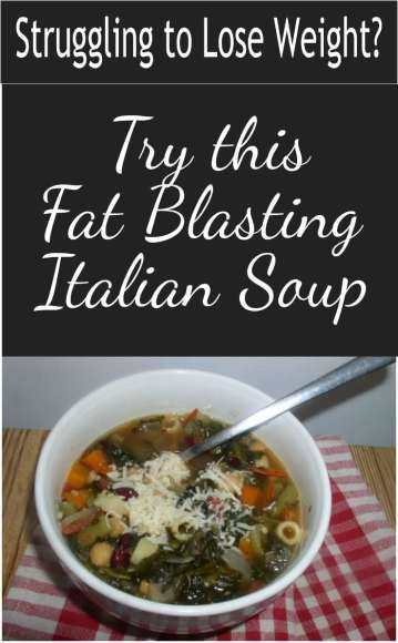 Fat Blasting Italian Soup Collage, haphazardhomemaker.com
