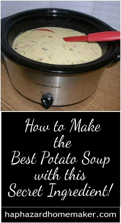 How to Make the Best Slow Cooker Potato Soup with This Secret Ingredient