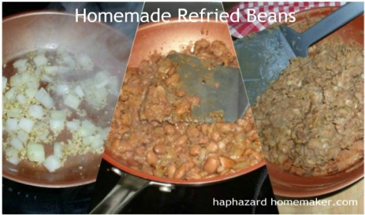 Refried Beans - haphazardhomemaker.com