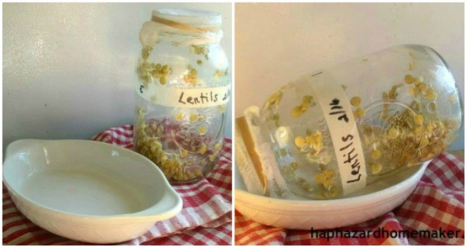 Sprouts Draining Jar Collage - haphazardhomemaker.com