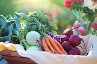 Basket of Vegetables - haphazardhomemaker. com