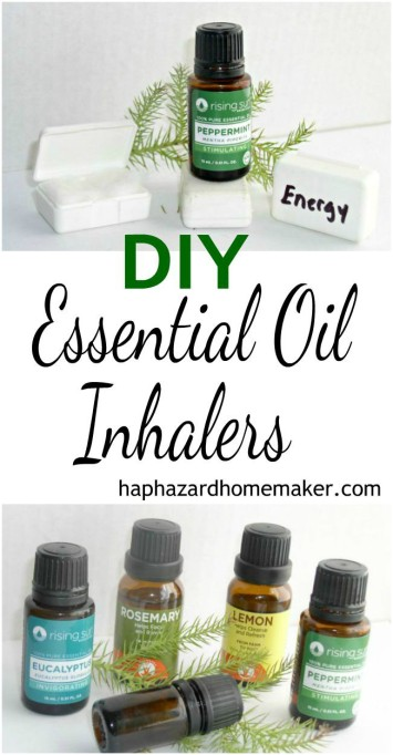 Essential Oil DIY Inhalers Pin-haphazardhomemaker.com