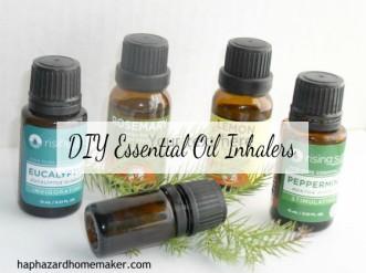 Essential Oil Inhalers Bottles - haphazardhomemaker.com