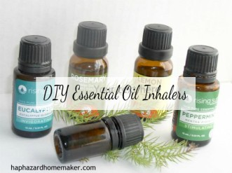 Essential Oil Inhalers Bottles - haphazardhomemaker.com