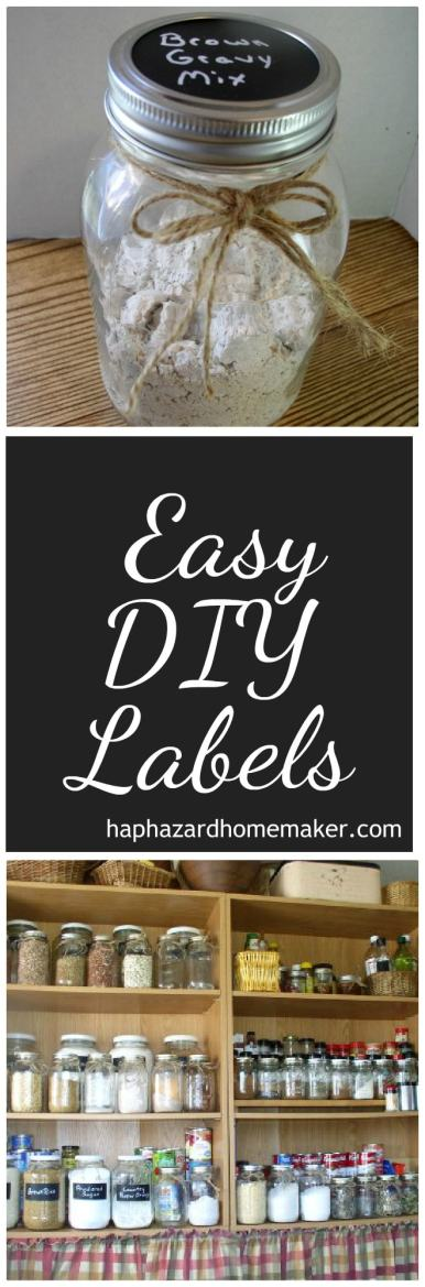 Easy DIY JarLabels Pin - haphazardhomemaker.com