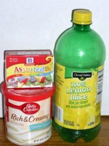Easy Luscious Lemon Supreme Cake Frosting - haphazardhomemaker.com