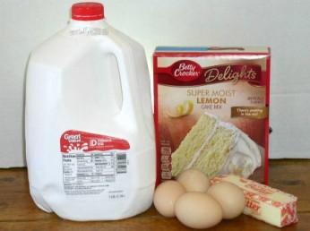 Easy Luscious Lemon Supreme Cake Ingredients - haphazardhomemaker.com