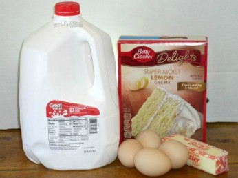 Easy Luscious Lemon Supreme Cake Ingredients - haphazardhomemaker.com