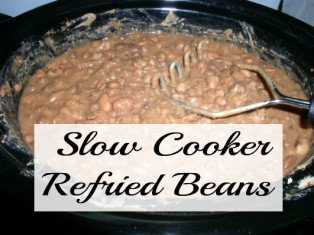 Freezer Friendly Slow Cooker Refried Beans - haphazardhomemaker.com