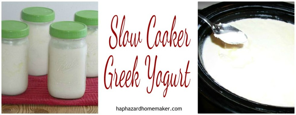 Slow Cooker Yogurt Greek FB Collage