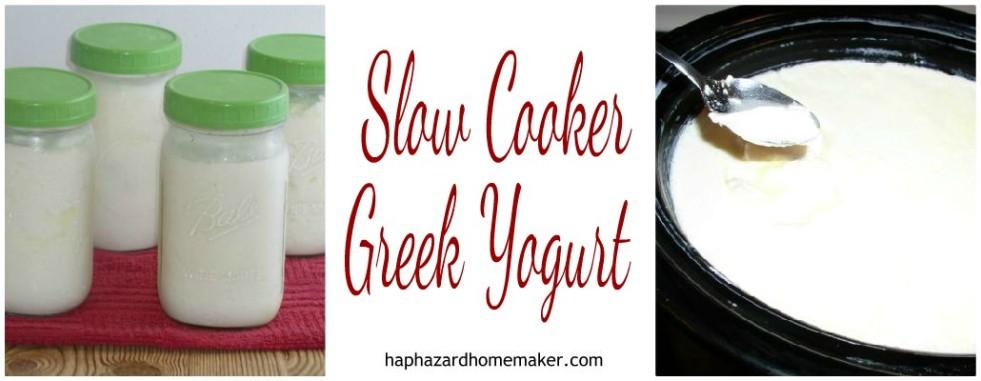 Slow Cooker Yogurt Greek FB Collage