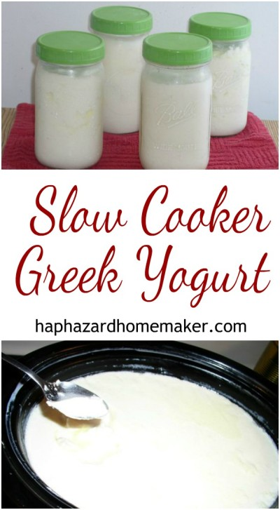 No Drain Greek Yogurt