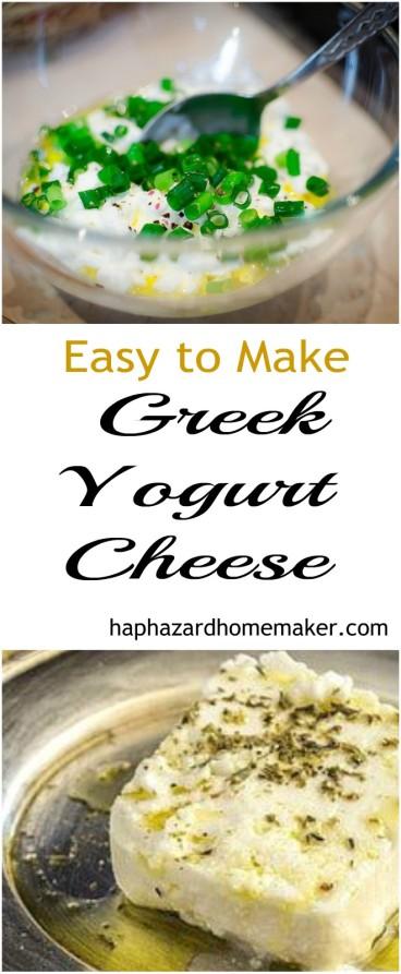 How to Make Greek Yogurt Cheese