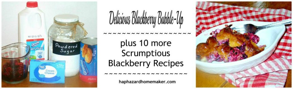 Delicious Blackberry Bubble-Up