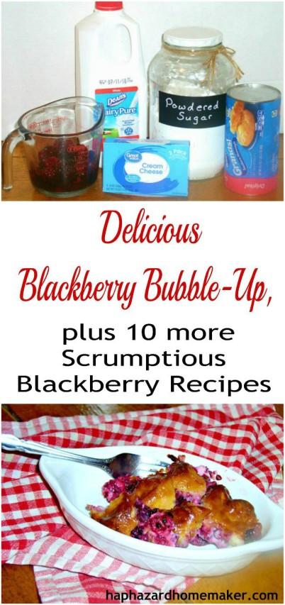 Delicious Blackberry Bubble-Up