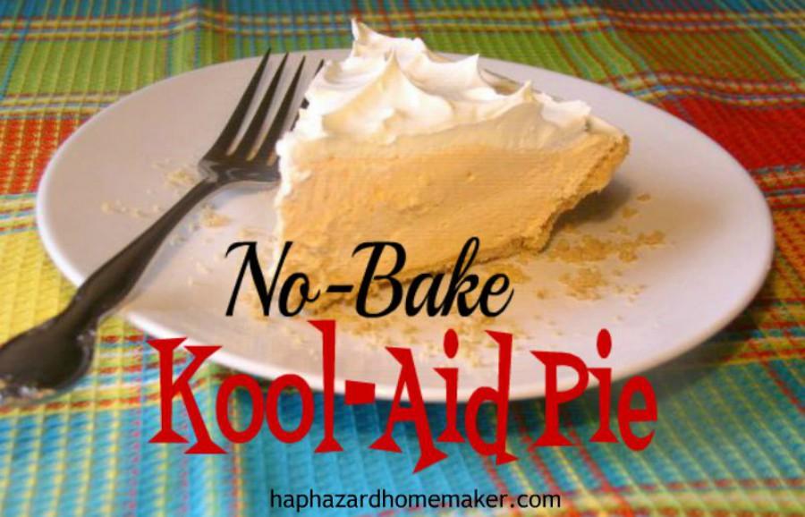 Easy No-Bake Kool-Aid Pie
