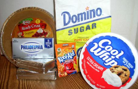 Creamy Kool-Aid Pie Ingredients