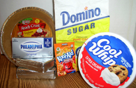 Creamy Kool-Aid Pie Ingredients