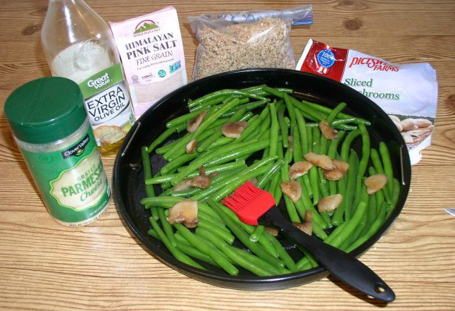 Delicious Parmesan Roasted Green Beans Ingredients