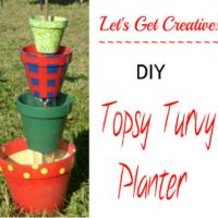 Diy Topsy Turvy Planter — Haphazard Homemaker