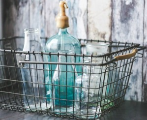 bottles-metal-vintage-old