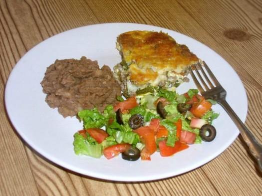 Chili Relleno Casserole Dinner