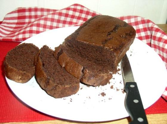 Chocolate Zucchini Cake on a plate
