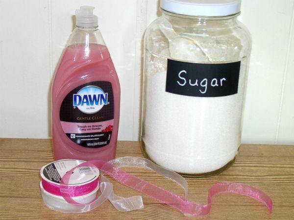 DIY Sugar Hand Scrub - haphazadhomemaker.com