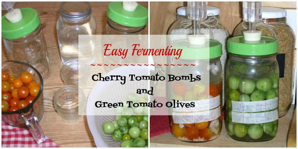 Cherry Tomato Bombs