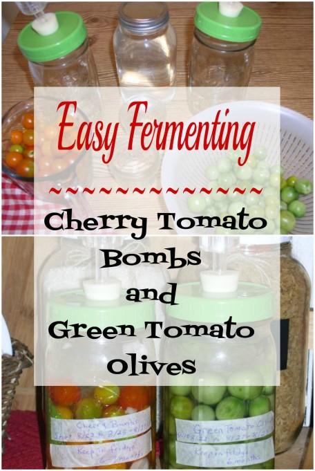 Green Tomato Olives
