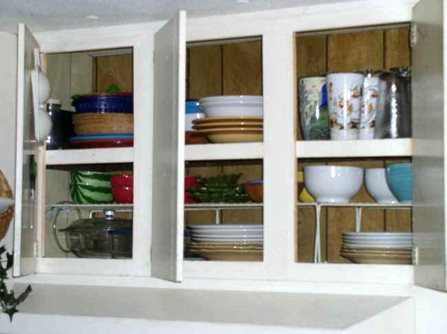 Kitchen Organization - Cupboards