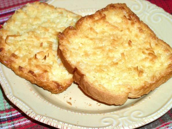 Coconut Toast - haphazardhomemaker.com