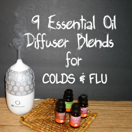 9 Essential Oil Diffuser Blends for COLDS & FLU - haphazardhomemaker.com