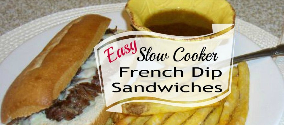 Crockpot French Dip Sandwiches - haphazardhomemaker.com