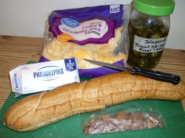 Cheesy Jalapeno Popper Bread - haphazardhomemaker.com