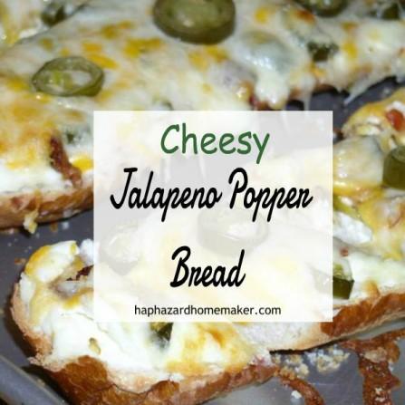 Cheesy Jalapeno Bread - haphazardhomemaker.com
