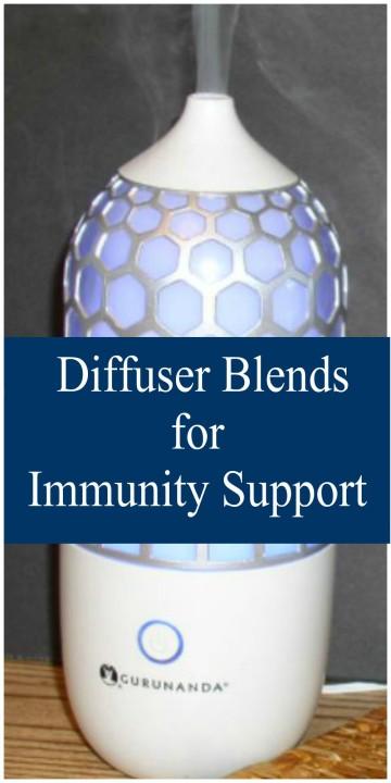 Essential Oils Diffuser Blends for Immunity Support - haphazardhomemaker.com