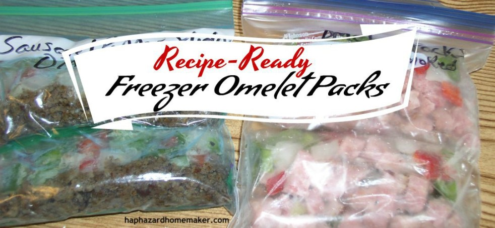 Recipe-Ready Freezer Omelet Packs - haphazardhomemaker.com