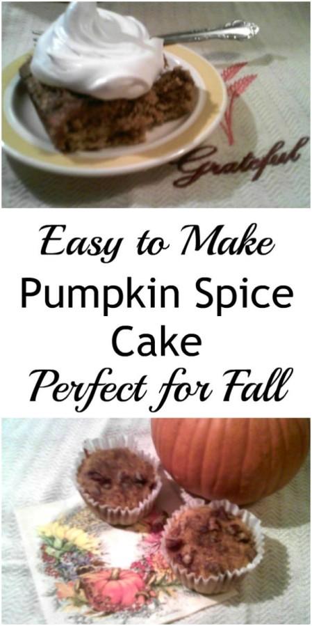 Pumpkin Spice Cake - haphazardhomemaker.com