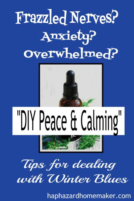 DIY Peace & Calming Essential Oil Blend - haphazardhomemakercom