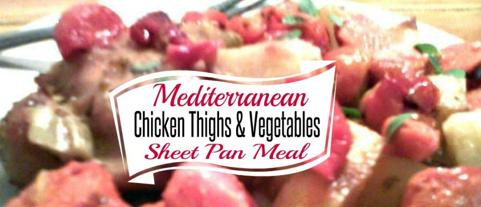 Easy Mediterranean Chicken Sheet Pan Meal