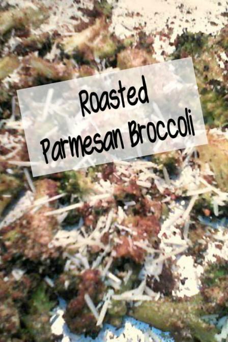 Easy Sheetpan Roasted Parmesan Broccoli - haphazardhomemaker.com