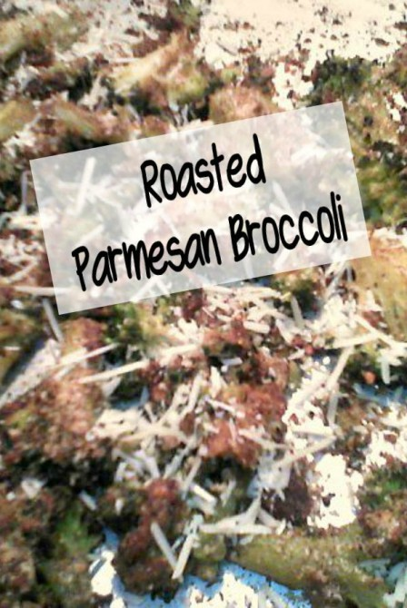 Easy Sheetpan Roasted Parmesan Broccoli - haphazardhomemaker.com