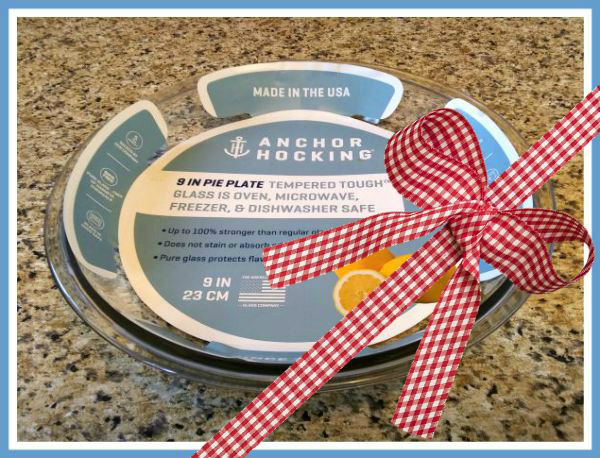 Anchor Hocking Pie Plate - haphazardhomemaker.com