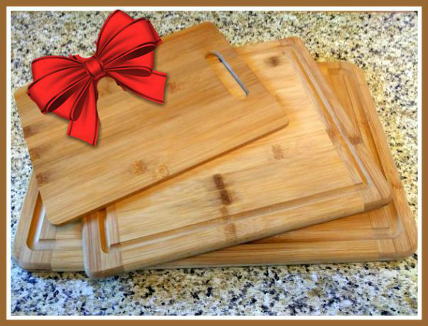 Bamboo Cutting Boards - haphazardhomemaker.com